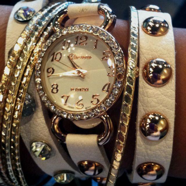 pretty! Watch wrap bracelet - $32.00