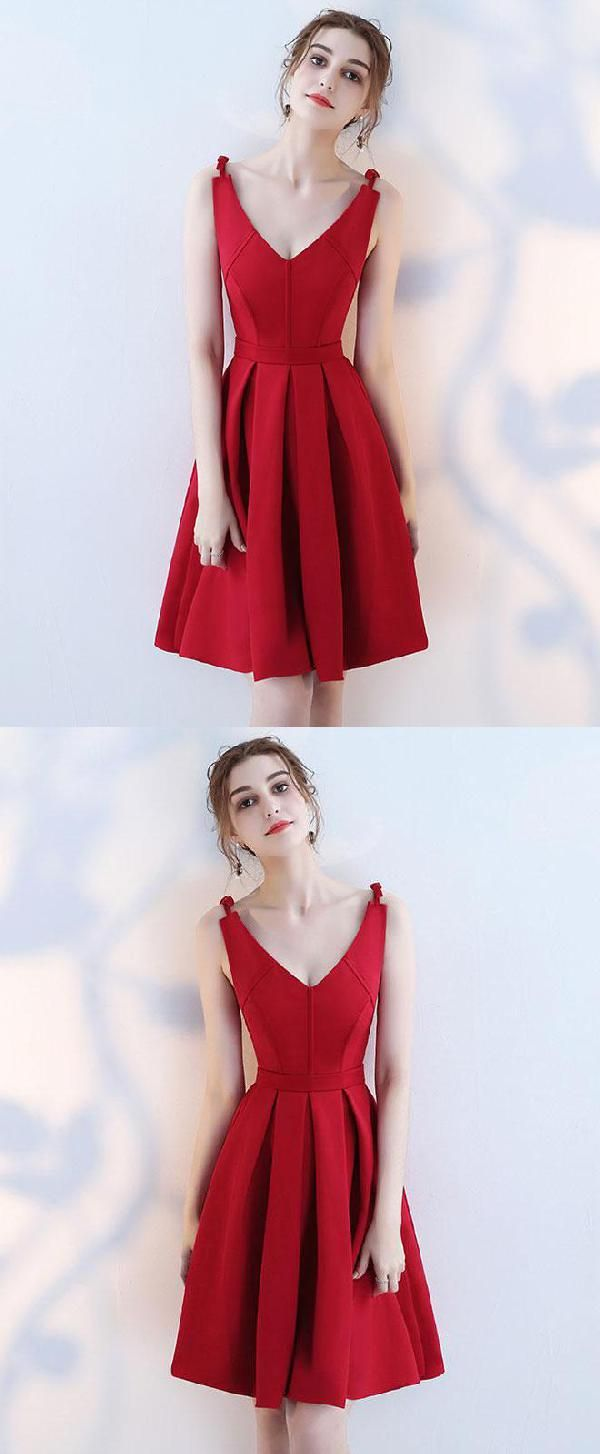 Soft burgundy prom dresses prom dresses simple short prom dresses