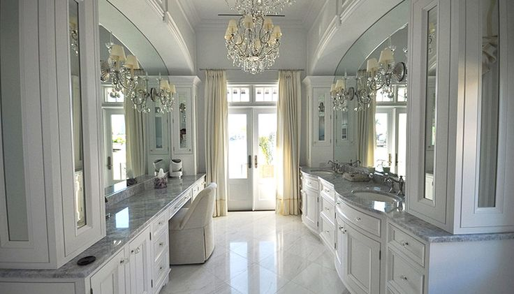 Grand prize winning design designed by craig lebeau for Bathroom decor naples fl