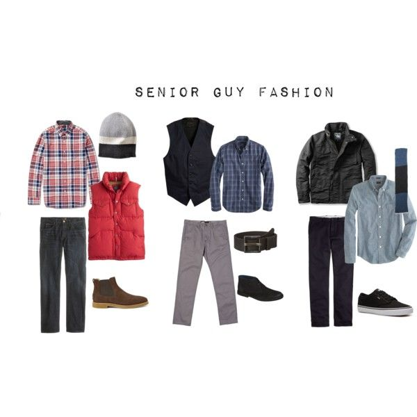 """""""Senior Guy Fashion"""" by lesliekerr on Polyvore"""