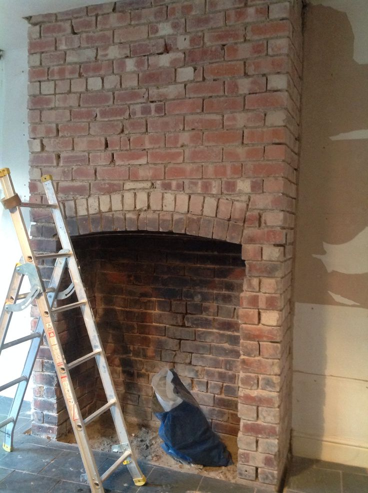 Top 25 Best Exposed Brick Fireplaces Ideas On Pinterest