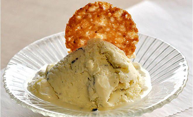 Black Truffle Ice Cream with Truffle Honey Florentines Recipe | D'Artagnan