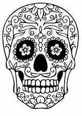 @complicolor sugar skull coloring pages Printable pages and Coloring books for grown-ups at: http://www.complicatedcoloring.com
