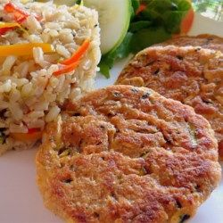 """""""These really taste like crab cakes but without the crab, and are a really good way to utilize that bumper crop of zucchini!"""""""