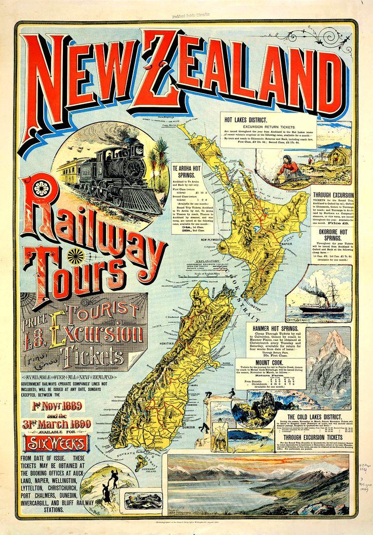 New Zealand railway tours (1889)