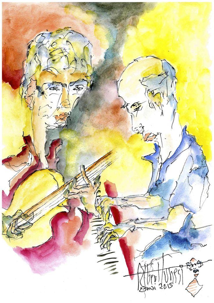 Albert Tunesi : Jazz Session avec son frère Christian et son neveu Thierry