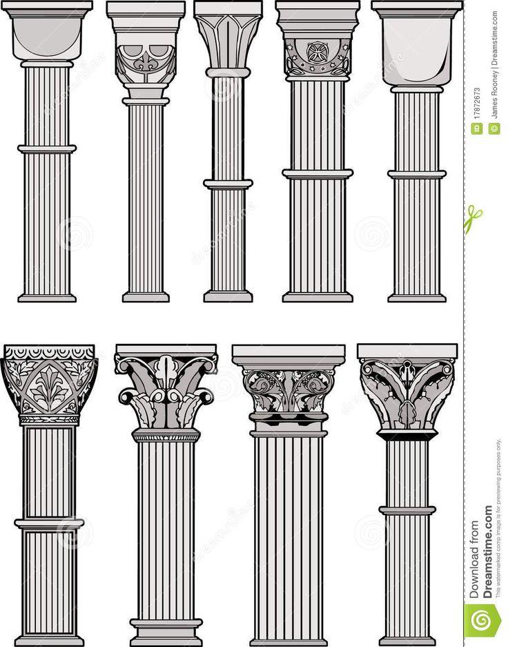 m225s de 25 ideas incre237bles sobre columnas romanas en