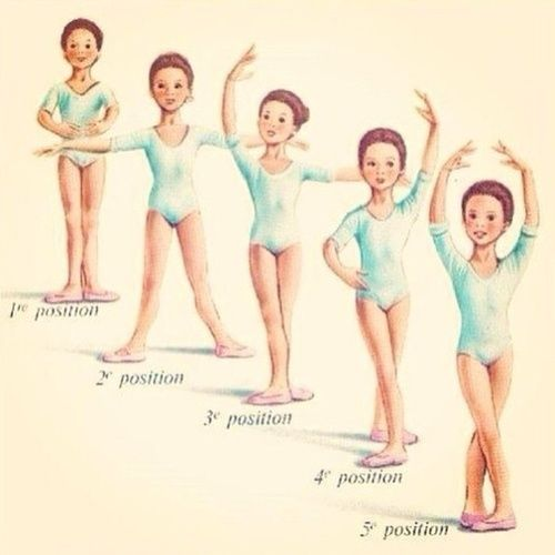 I remember these dance positions since I was about 3 haha