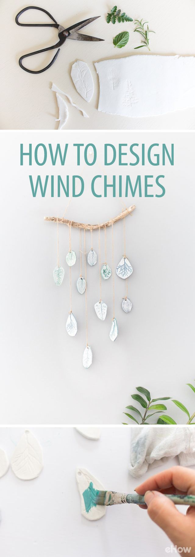 These DIY wind chimes are our favorite! Surprispingly easy to design and DIY, this is a great long weekend project even though it only takes a short amount of time to make it! http://www.ehow.com/how_5479496_design-wind-chimes.html?utm_source=pinterest.com&utm_medium=referral&utm_content=freestyle&utm_campaign=fanpage