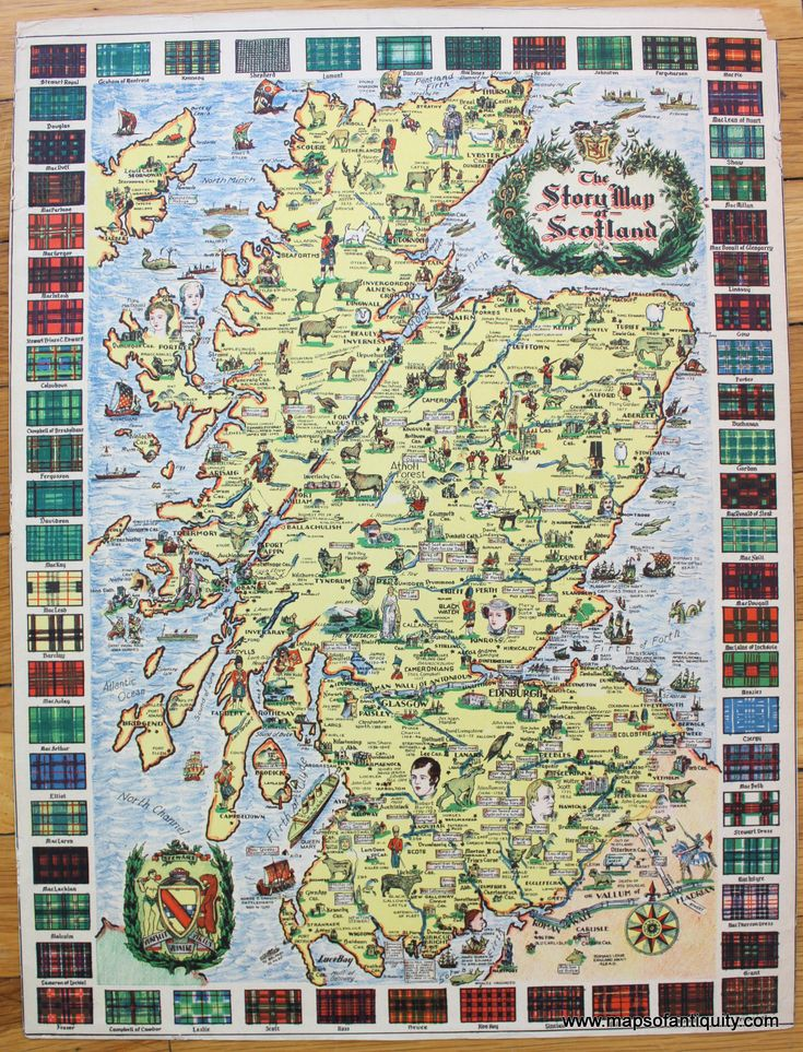 The Story Map of Scotland verso A