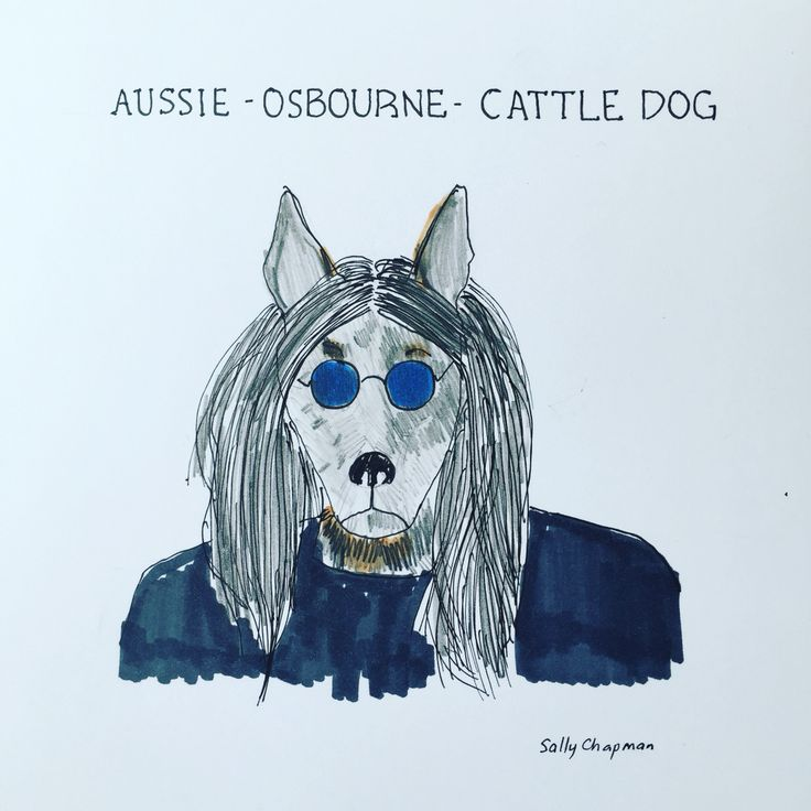 Famous dog series Ozzy Osborne