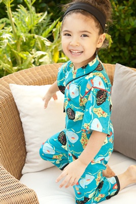 kimono play set from Redfish kids