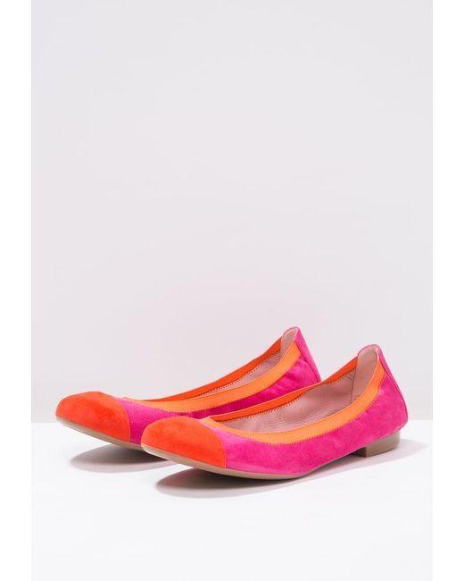 Pretty Ballerinas | Orange Angelis Ballet Pumps | Lyst