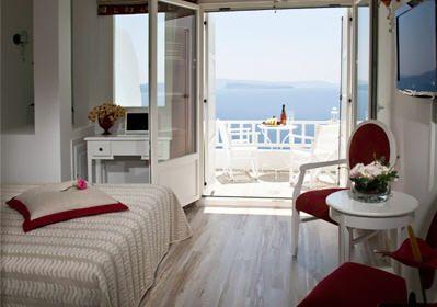 Delfini Hotel in Oia, Santorini - Exclusive Room  http://www.delfinihotel.net/