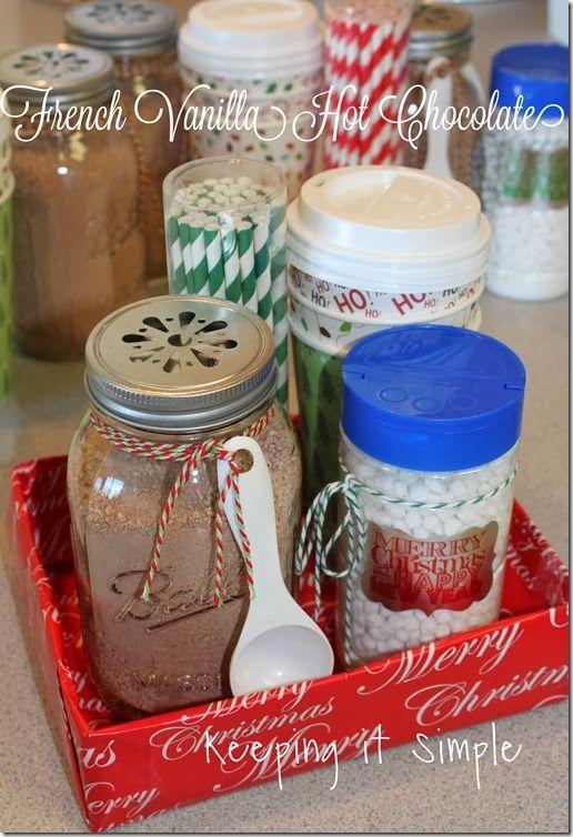 French Vanilla Hot Chocolate Neighbor Gift