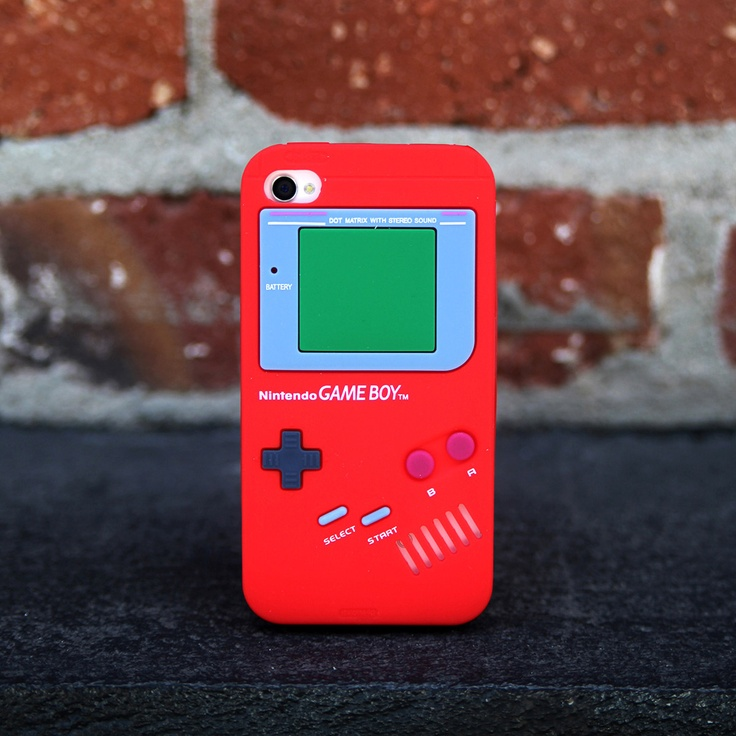 iPhone 4/4S Gameboy Case Red