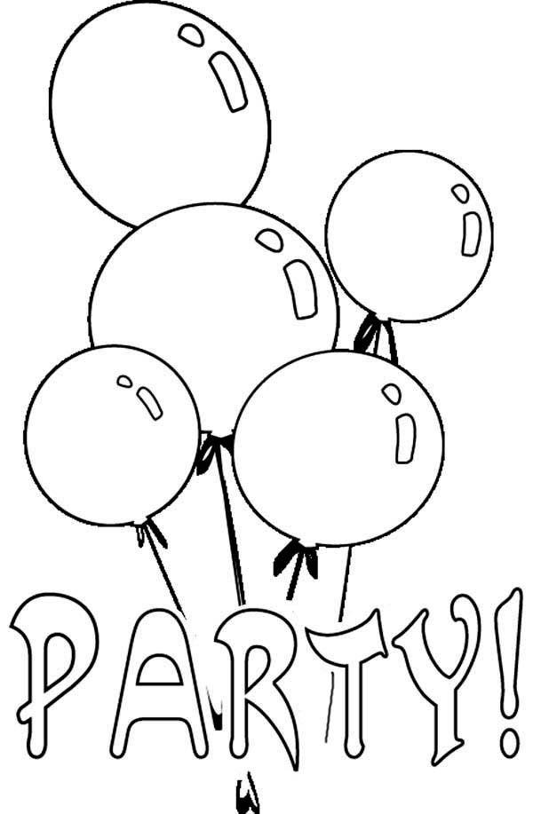 Globos 20 Dibujos Faciles Para Dibujar Para Ninos Colorear Geburtstag Malvorlagen Ausmalbilder Lustige Malvorlagen