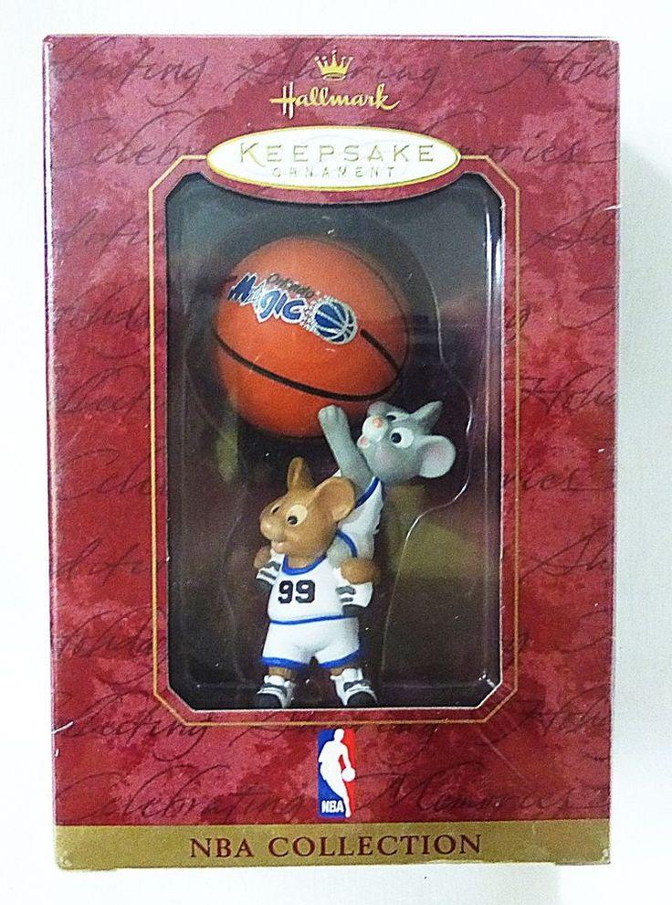 Hallmark keepsake christmas ornament NBA orlando magic basketball mouse