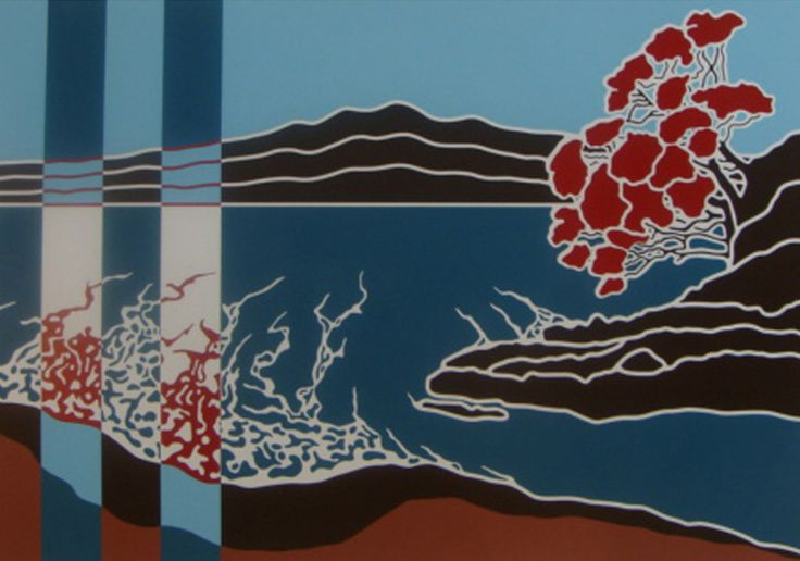 Parnell Gallery artist Brad Novak Rangitoto 1.2 http://www.parnellgallery.co.nz/artworks/artist-brad-novak/rangitoto-1-2/