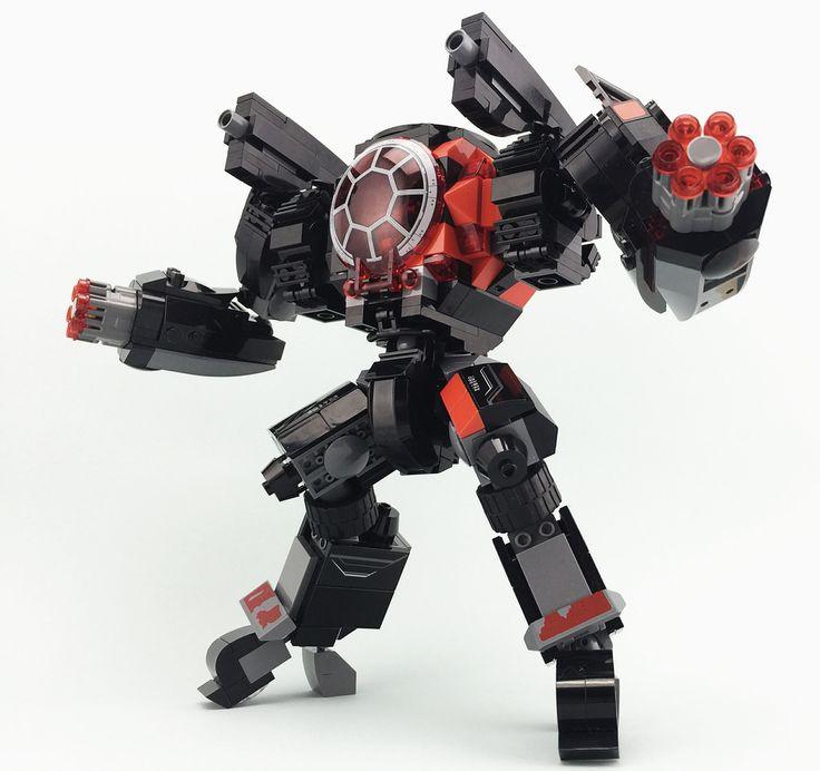 lego robot building instructions