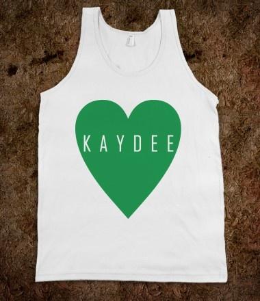 Kappa Delta Frat Tanks - Kappa Delta Heart. Kappa Delta Sorority Shirts. CLICK HERE to purchase :)