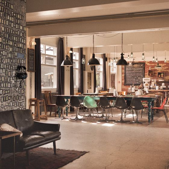 Iceland-Reykjavik city centre: A trendy hostel housed in an old biscuit factory in  in Iceland. Cheap budget hotel & guesthouse offering great value accommodation.