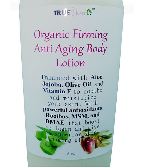 Anti Aging Body Lotion - Best Skin Firming Lotion that's Organic!