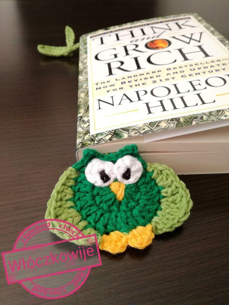 Bookmark owl. Zakładka sowa