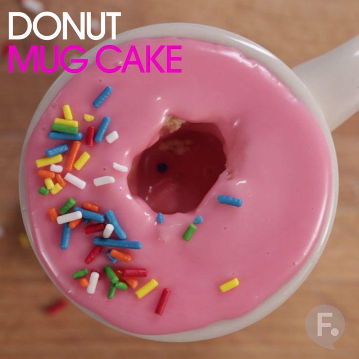 Donut Mug Cake                                                                                                                                                                                 More