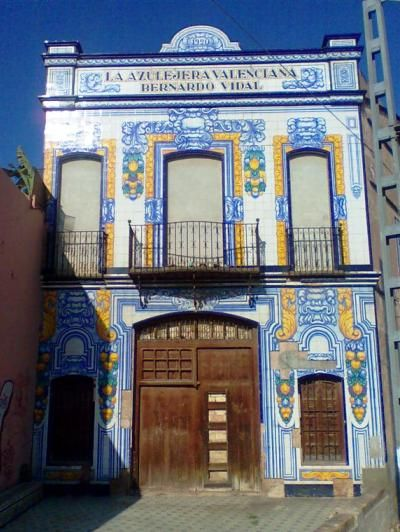 Fábrica de azulejos Bernardo Vidal. Meliana, Valencia