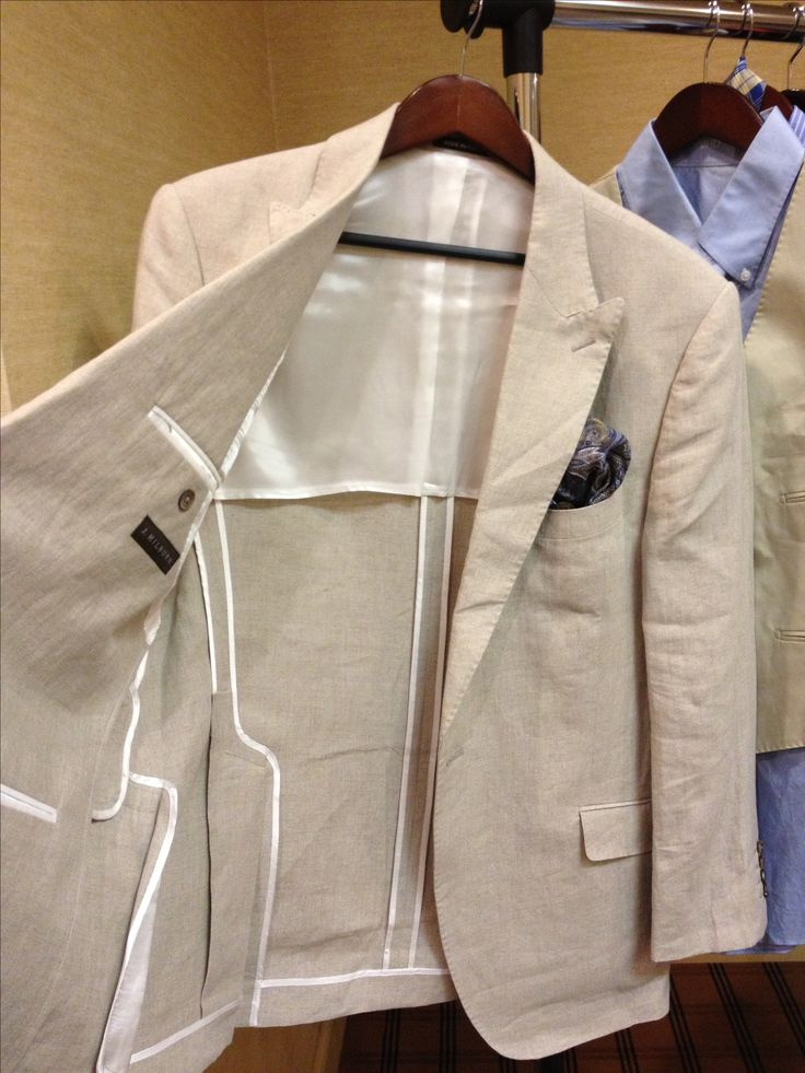 Unlined suit... From J. Hilburn Men's clothier, the simple way to shop! Shop…