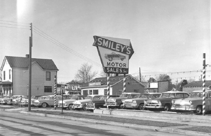 Used Car Dealerships Richmond Va >> Smiley's Motor Sales, Richmond, VA, January 23, 1957. Vintage shots from days gone by! - Page ...