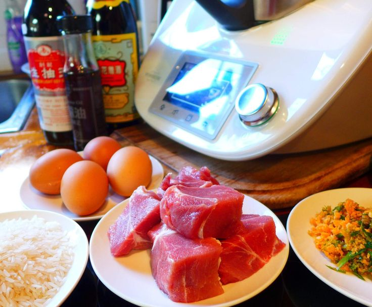 Steamed Silken Egg Omelette with Pork (All-in-one Varoma Meal) (Traditional Chinese Homestyle Cooking)