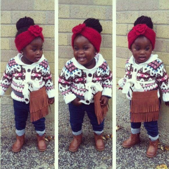 Beautiful black kids babies little girl fashion #kids ...