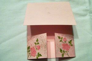 Splitcoaststampers - Tutorials  Double Dutch Fold  Very easy to make.