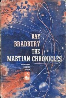 The Martian Chronicles is a 1950 science fiction short story collection by Ray Bradbury that chronicles the colonization of Mars by humans fleeing from a troubled and eventually atomically devastated Earth, and the conflict between aboriginal Martians and the new colonists. The book lies somewhere between a short story collection and an episodic novel, containing stories Bradbury originally published in the late 1940s in science fiction magazines.