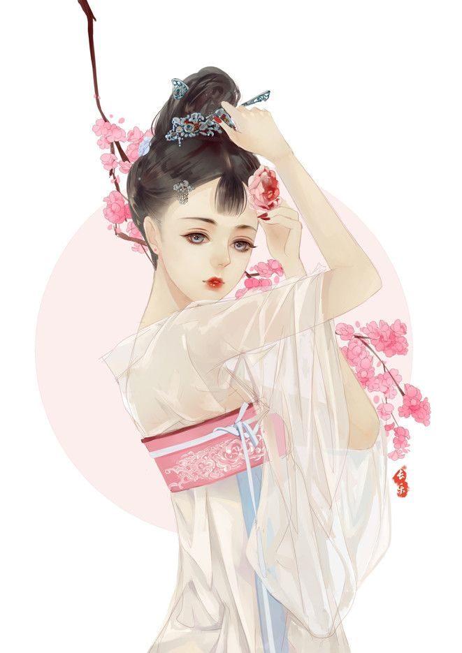 中国風イラスト