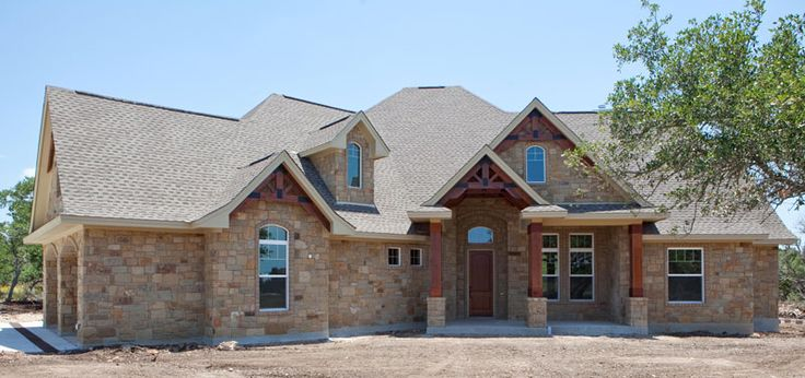 Texas-Style Craftsman House Plan from Wall Stree Journal #117-1103: 3 Bedrm, 2847 Sq Ft   ThePlanCollection