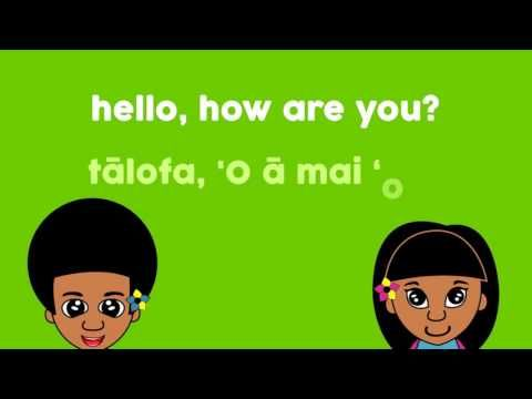 Laki and Lani Learns how to Greet in the Samoan Language. Check out the others in the playlist.