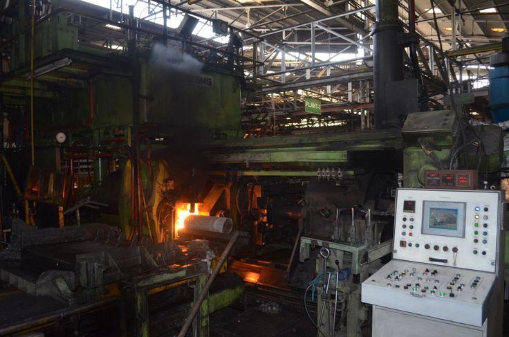 Acetylene Carbon Shoot on Billet  #JindalFactory