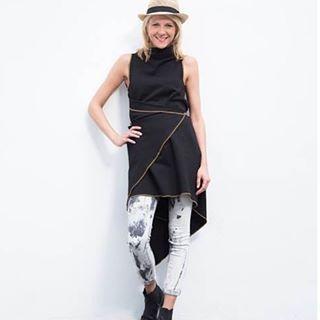 www.madamekukla.com #variable #asymmetric #wrapdress #sleeveless #makeityours #madamekukla