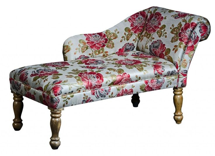 Floribunda Vintage Rose Chaise Longue   Free Delivery #2 Seater Sofa #2