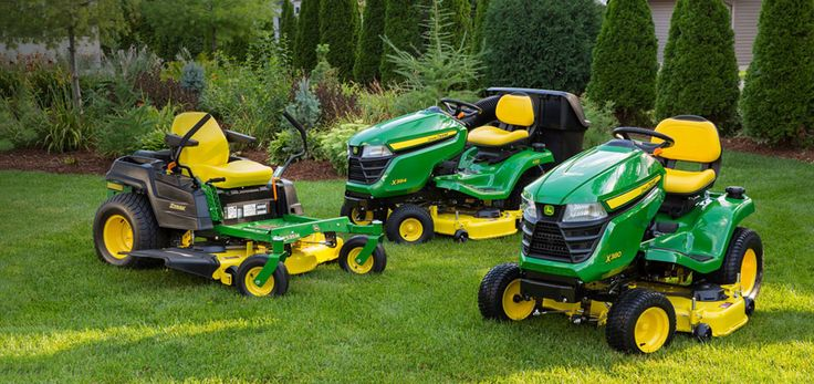 Explore the lawn tractor lineup