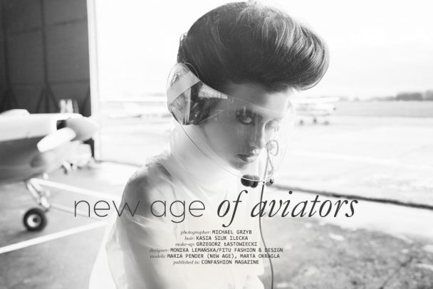 "Michael Grzyb: ""New Age of Aviators"" http://www.confashionmag.pl/webitorial/new-age-of-aviators.html"