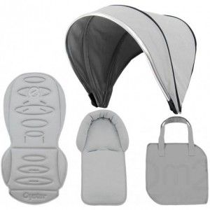 Oyster Max colour pack in Silver Mist - beautiful! Visit www.babystylesa.co.za