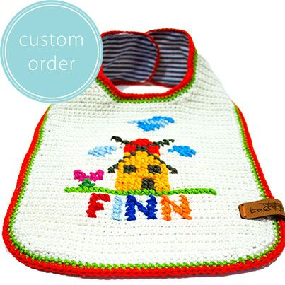 Would you also like a bib with a Dutch theme on it? We make custom orders.