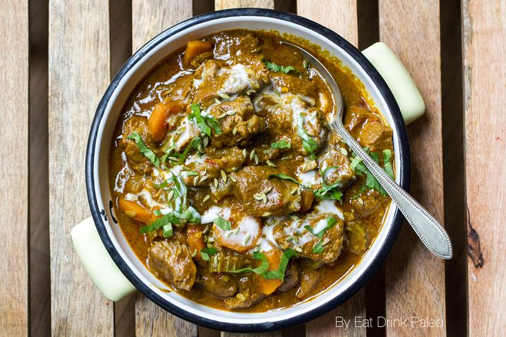 Scrummy Paleo Curry With Lamb & Coconut Recipe   Eat Drink Paleo (added an extra TSP of Garam Masala, and 1/2 Tsp each of Tumeric and Fennel Seeds)