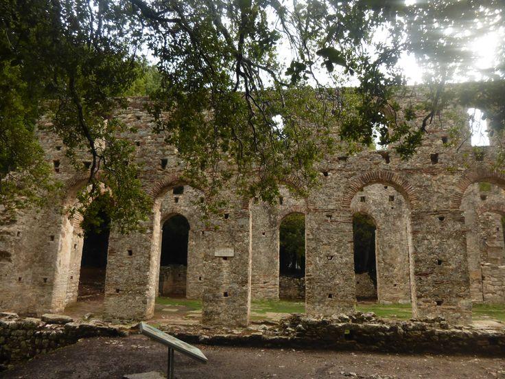 #Butrint la basilica. Patrimonio dell'Umanità #UNESCO