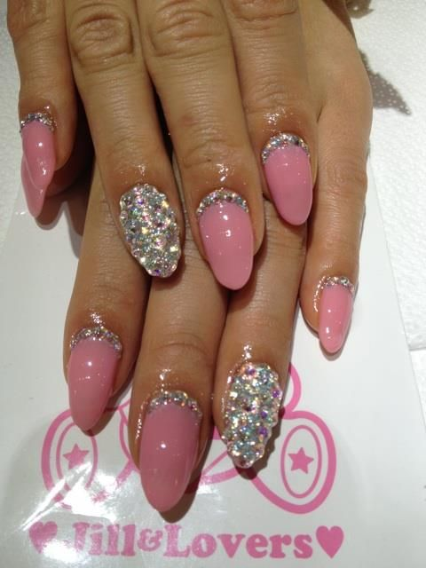 Best 25 diamond nail designs ideas on pinterest black glitter while searching for pink diamond i found thesewowza prinsesfo Choice Image