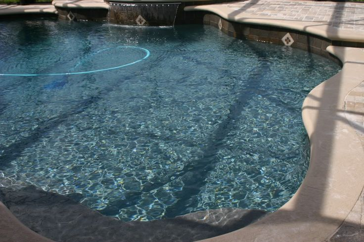 French Gray Quartz Pool Re Diamond Brite French Grey